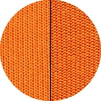 Spannbettlaken, Microfaser, orange